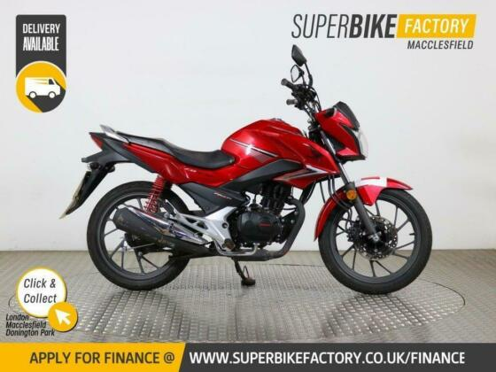 2018 68 HONDA CB125F GLR 1WH-H - BUY ONLINE 24 HOURS A DAY