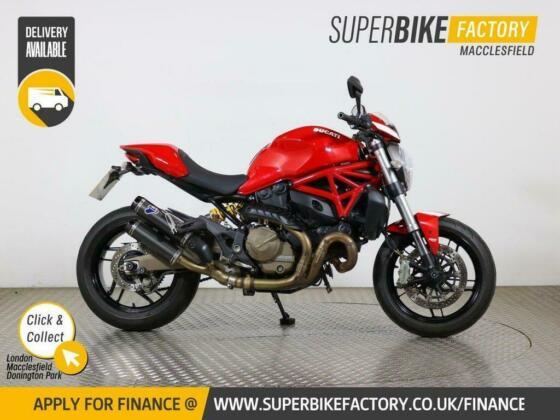 2016 65 DUCATI MONSTER 821 - BUY ONLINE 24 HOURS A DAY