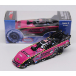 NHRA 2017 COURTNEY FORCE PINK ADVANCE AUTO FUNNY CAR 1/64 DIECAST