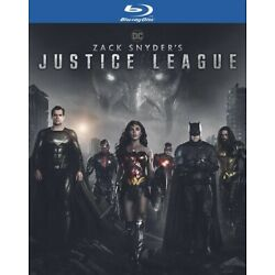 Zack Snyder's Justice League (Blu-ray, w/Slipcover, 2021) NEW Sealed