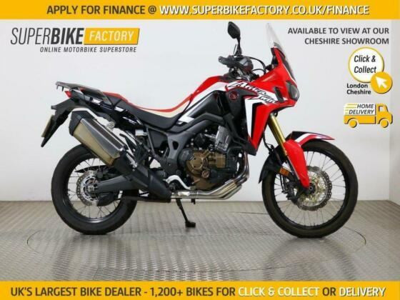 2016 16 HONDA CRF1000L AFRICA TWIN - BUY ONLINE 24 HOURS A DAY