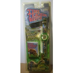 New In Package Zoobee Kids Time Teaching Watch Dinosaurs Themed Analog