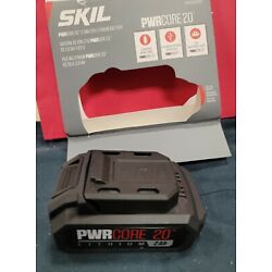 Skil BY519702 20V PWRCore20 Lithium 2.0Ah Battery with PWRAssist Mobile Charging