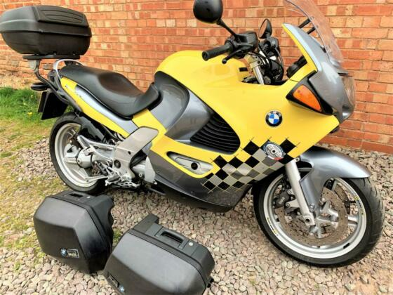 BMW K1200 RS, 1999/T, 30K, SUPERB IN YELLOW, FULL LUGGAGE, 12 MTHS MOT