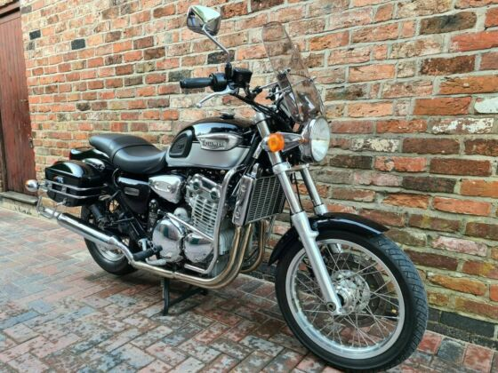 TRIUMPH 900 ADVENTURER 1997 HPI CLEAR,LONG MOT, VERY CLEAN BIKE WITH NICE EXTRAS