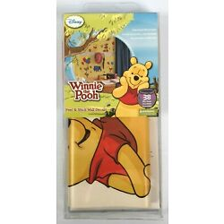Winnie the Pooh Peel n Stick Wall Decals 38 Ct Precut Removable Reposition Reuse