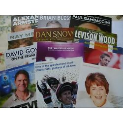 Assorted Guest Flyers 1...Hudd...Farage...Wood...Gambaccini...& others..free P+P