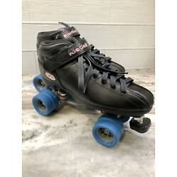 Riedell R3 Black Quad Roller Skates- Riedell Cayman Size 11 Great Condition