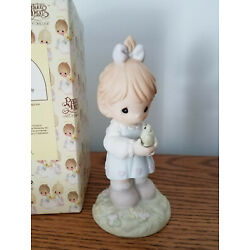 Precious Moments Have I Toad You Lately I Love You Ltd.Ed. 521329 Girl with toad