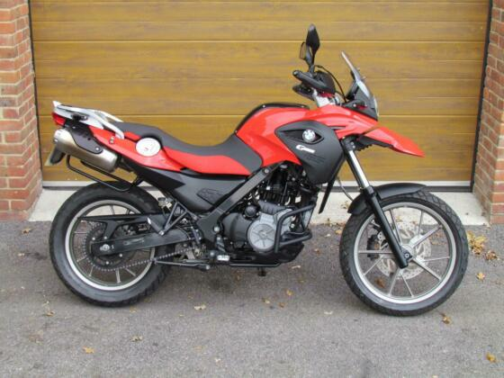 2012/12 BMW G650 GS ABS with only 1,100m in Red