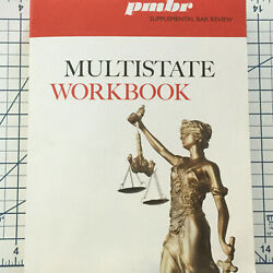 2020 - 2021 PMBR Supplemental Bar Review Multistate Workbook MBE Questions