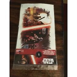 Disney-Star Wars(The Force Awakens)Repositionable Wall Decal Sealed New Sealed