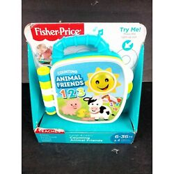 Fisher Price Laugh And Learn Counting Animal Friends Book 6-36 Months