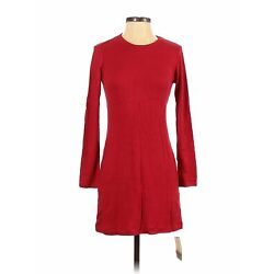 NWT Reformation Jeans Women Red Casual Dress S