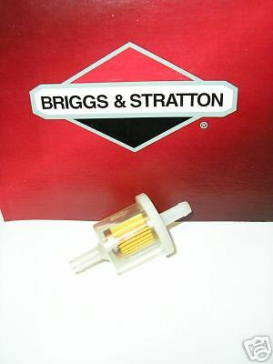 new fuel filter to replace briggs stratton 493629 ebay. Black Bedroom Furniture Sets. Home Design Ideas