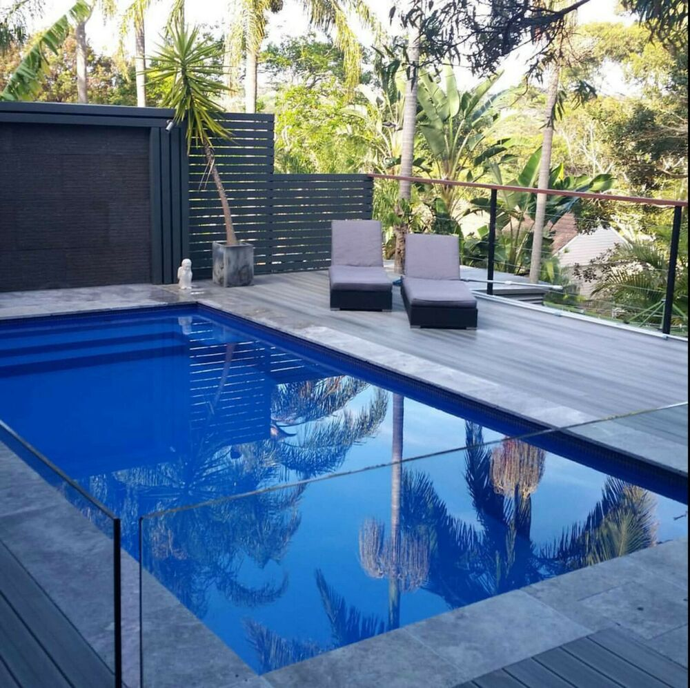 fibreglass above ground reinforced pool 7m x depth 1. Black Bedroom Furniture Sets. Home Design Ideas