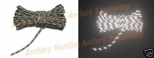 20 Camo Reflective Cord Treestand Blind Trail Markers Ebay