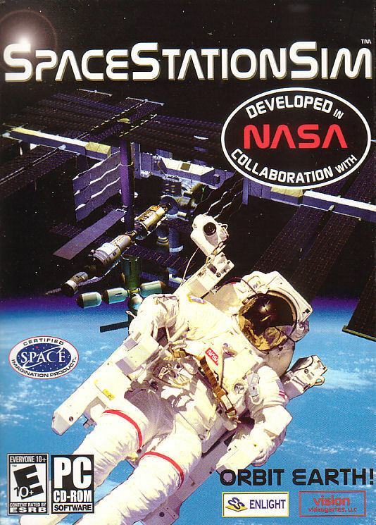 New Box Games : Space station sim nasa simulation pc game new in box