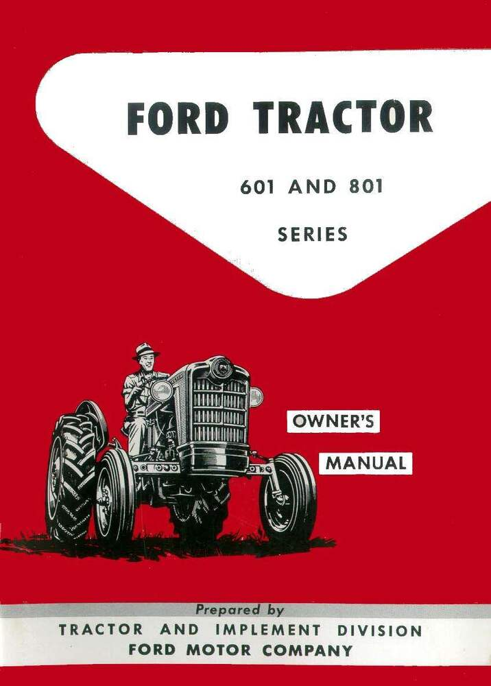 ford  tractor owners manual piratebaygems