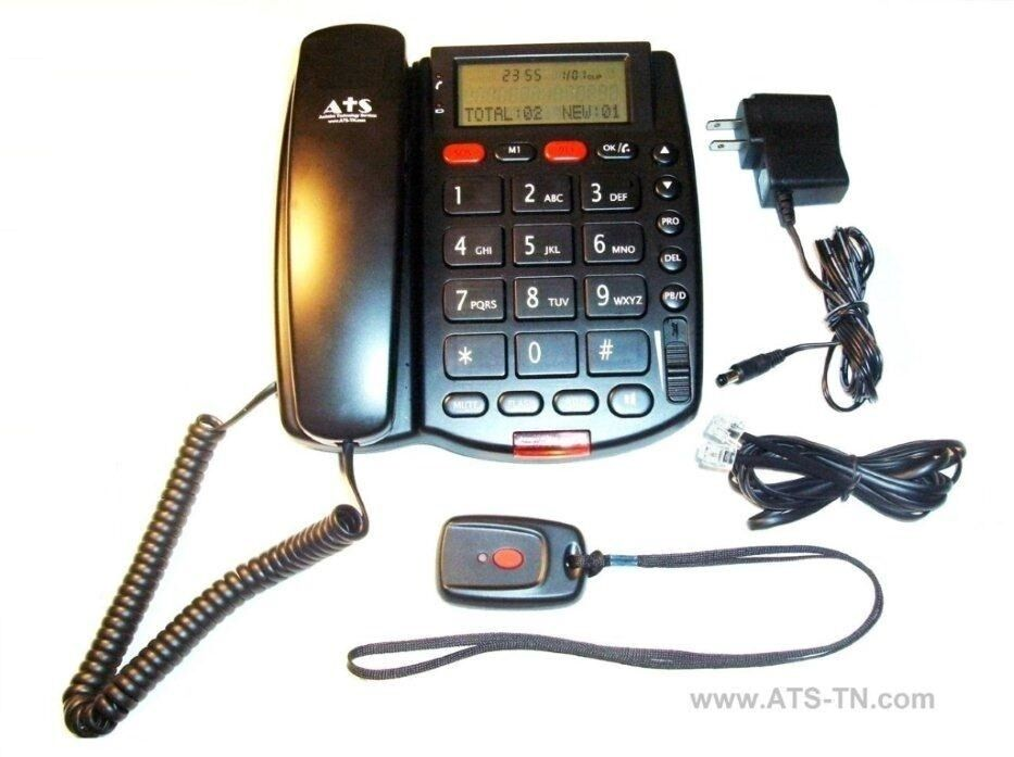 Medical Alert System Telephone W Talking Caller Id New Ebay