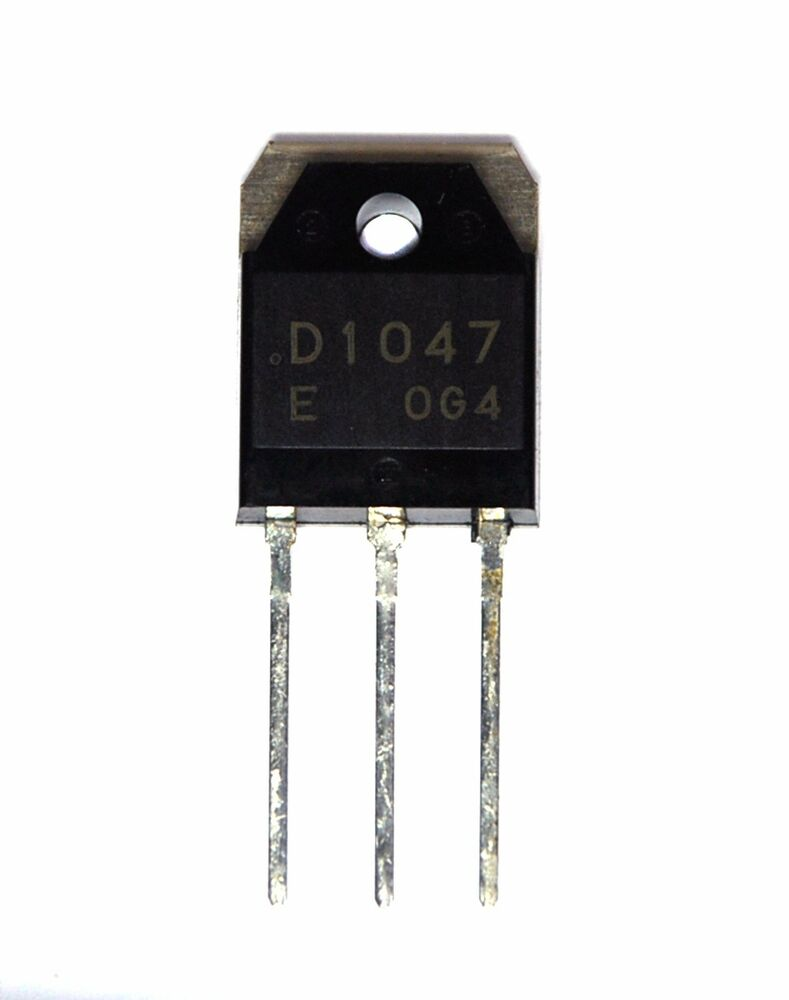 2pc NPN Transistor 2SD1047 D1047 E Amplifier TO-3PB Vceo ...