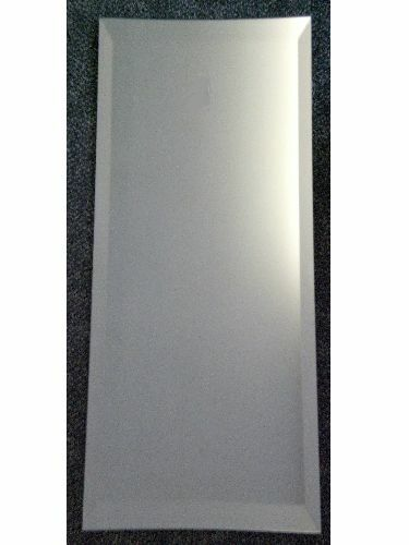 Long dress length bevelled edge wall mirror 12 x 48 305 for Long length mirrors for walls