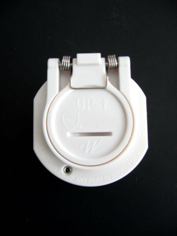 Vac Lock Safety Pool Wall Hose Fitting White Replacement For Hayward W400whp Ebay