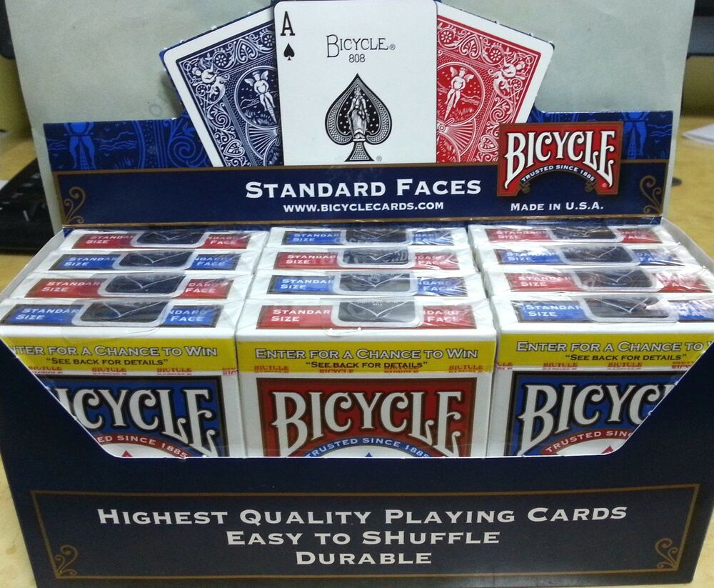 Bicycle poker 808 807-rtg