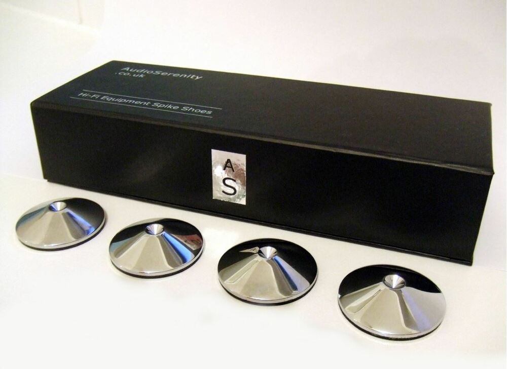 Spike Shoes Pad 4 Rel Eltax Amp Mordaunt Short Subwoofers Ebay