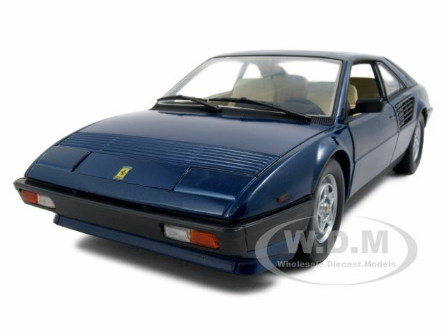 ferrari mondial 8 blue 1 18 diecast model car by hotwheels p9883 ebay. Black Bedroom Furniture Sets. Home Design Ideas
