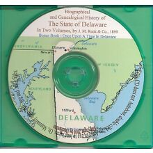 Delaware Biographical and Genealogical History -Vol 1&2