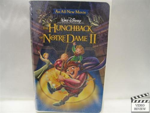 the hunchback of notre dame ii vhs 2002 brand new