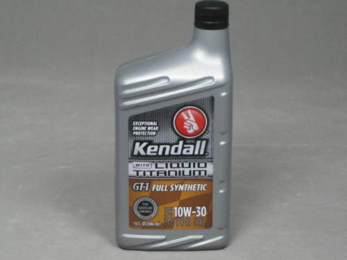 Kendall Gt1 Full Synthetic Motor Oil 5w30 Titanium Ebay