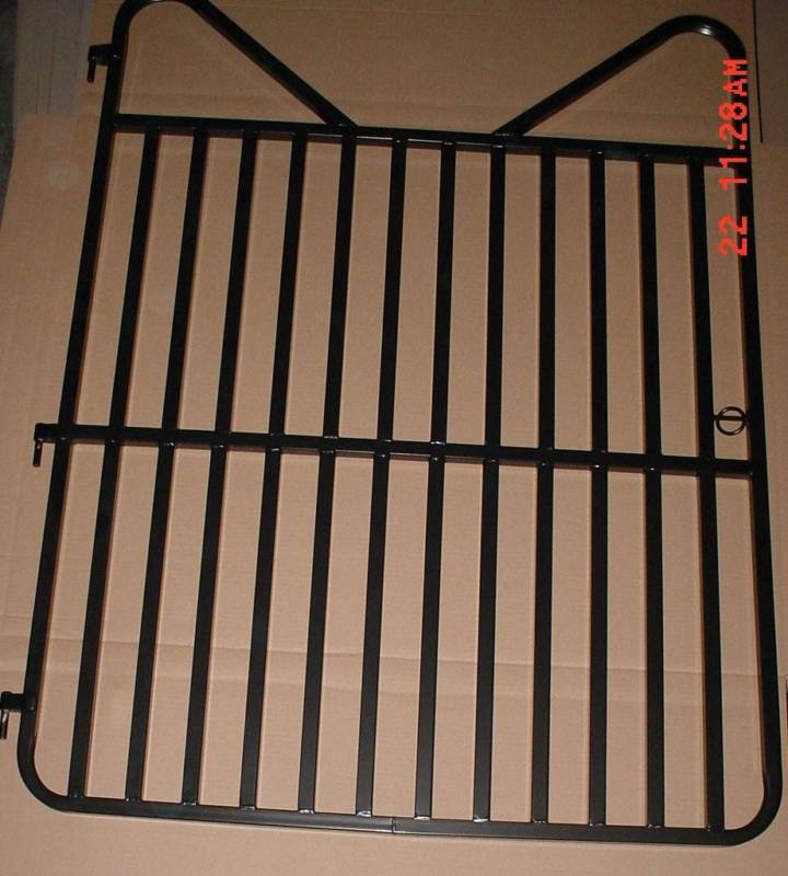 Standard Large 60 Quot X 48 Quot Horse Stall Gate Black Ebay
