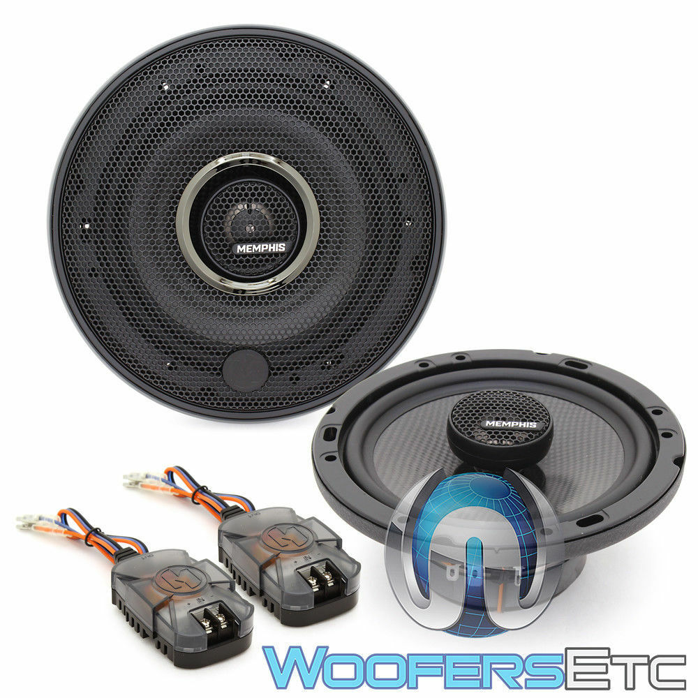 Pair Audio Drift DS-A1673LE 6.5 Inch 3 Way Car Audio Speakers w// LED Lights