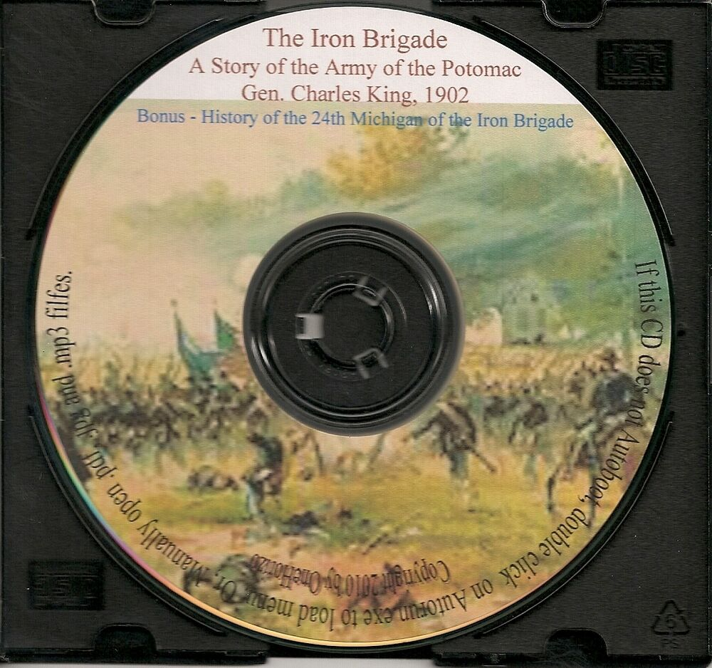 Origin Of Iron ~ History of the iron brigade ebay