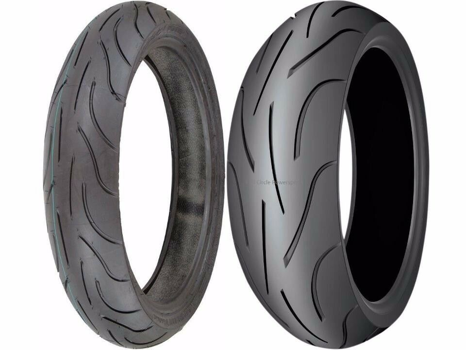 michelin pilot power 190 50 17 120 70 17 sport motorcycle tires zr radial ebay. Black Bedroom Furniture Sets. Home Design Ideas
