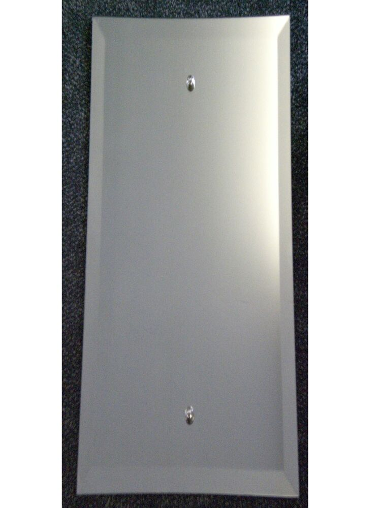 Long dress length bevelled edge wall mirror 48 x 12 for Long length mirrors for walls