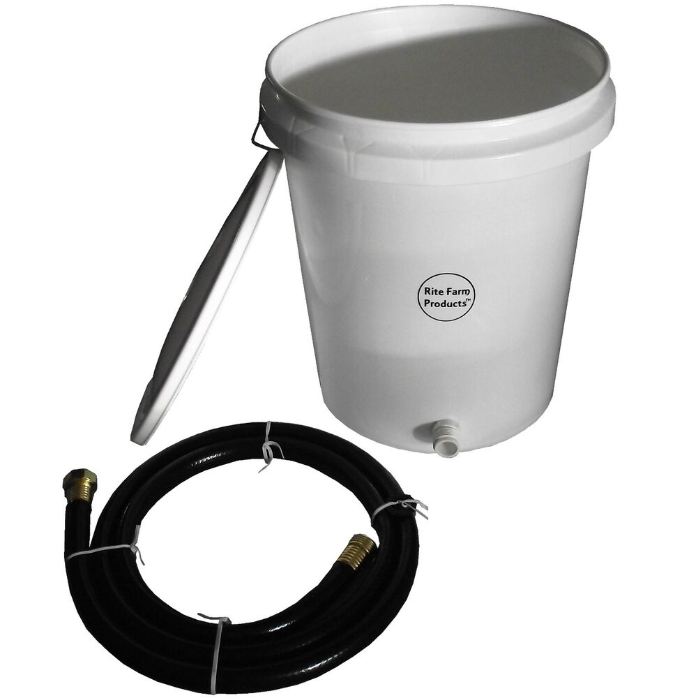 5 Gallon Gravity Water Supply Reserve Kit For Automatic