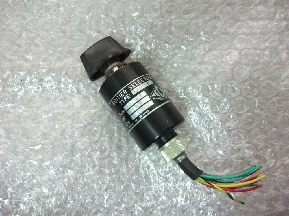 Ece Rotary Selector Switch 1 6013 9 9 Pos Ebay