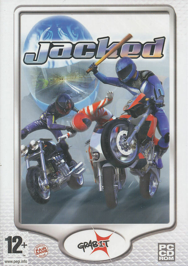 New Box Games : Jacked bike racing motorcycle combat pc game new in box ebay