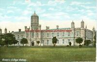 """Queens College Galway old Irish Photo 14"""" x 11"""" Mounted"""