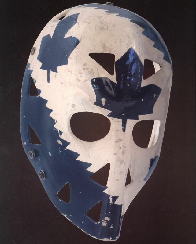 Mike Palmateer Goalie Mask - Leafs, 8x10 Color Photo