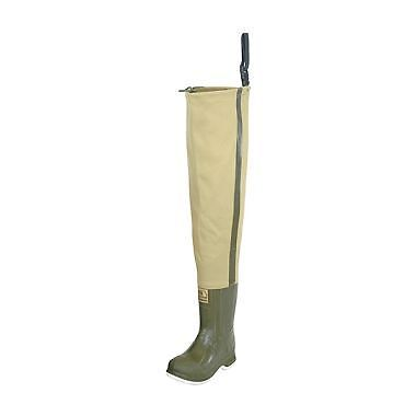 Hodgman wadewell fishing hip boots waders felt size 8 ebay for Hip boots for fishing