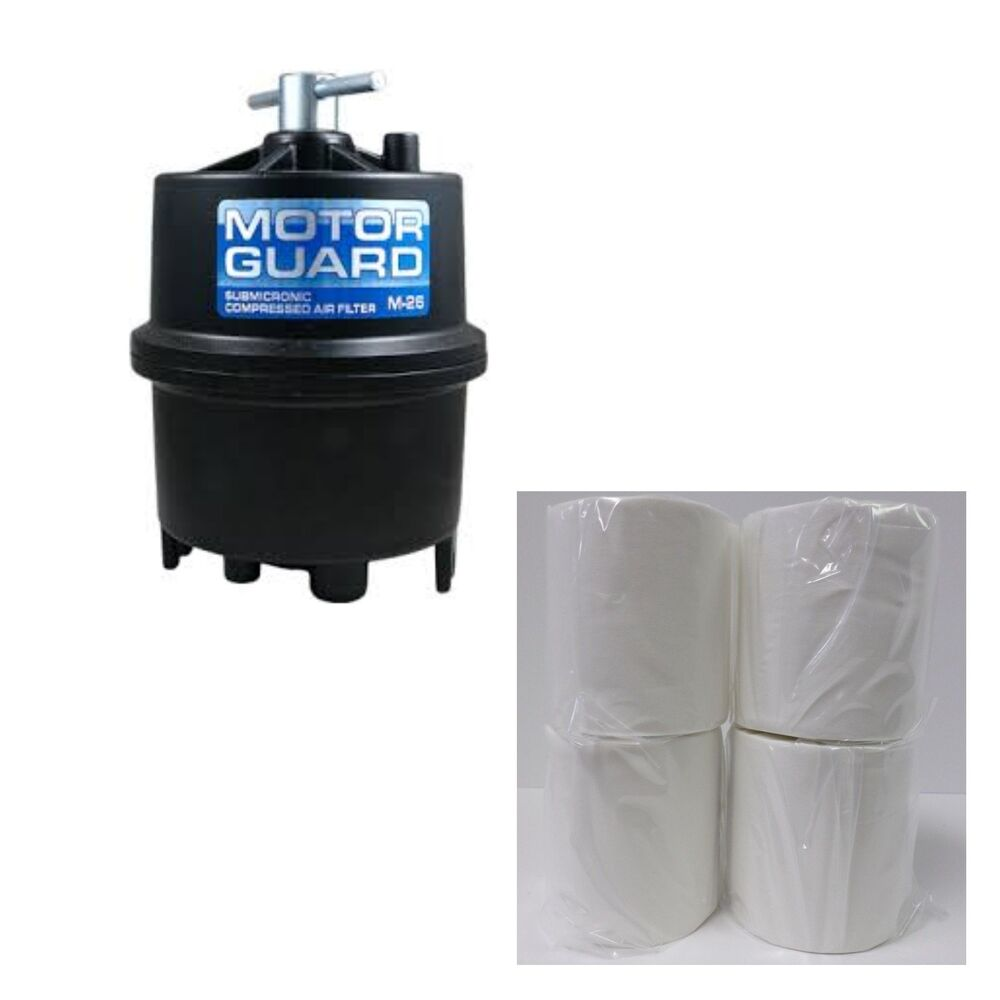 motor guard plasma air filter w 4 filters fits most brands ebay. Black Bedroom Furniture Sets. Home Design Ideas