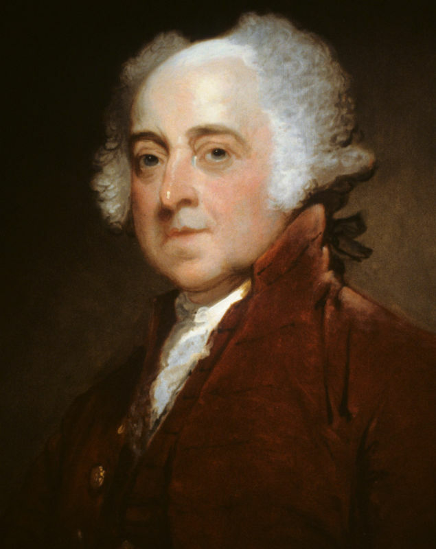 president john adams 8x10 portrait photo ebay
