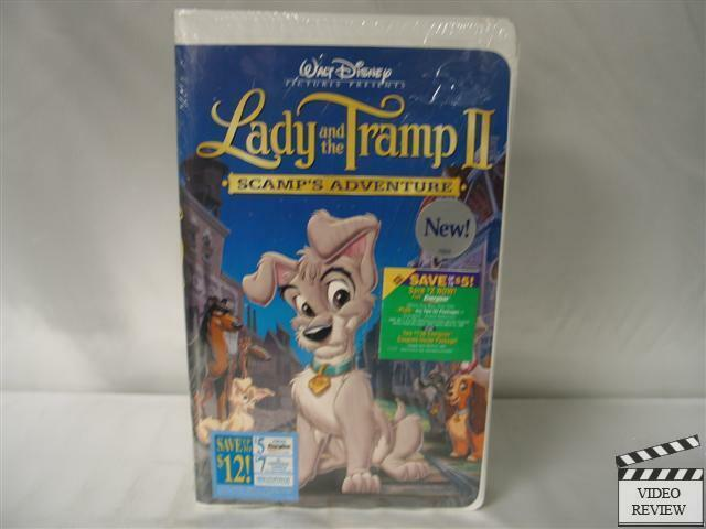 Lady and the Tramp 2: Scamp's Adventure VHS NEW Disney ...