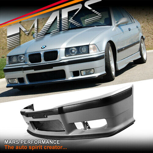 M3 Style Front Bumper Bar For BMW 3-Series E36 318i 318is