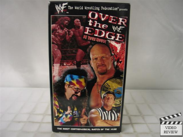 Wwf In Your House Over The Edge Vhs 651191020430 Ebay