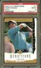 TIGER WOODS 2003 Upper Deck Renditions Golf  #1 GOLD PSA 9 #108/250 #0110